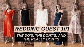 WEDDING GUEST 101: WHAT TO WEAR TO A WEDDING