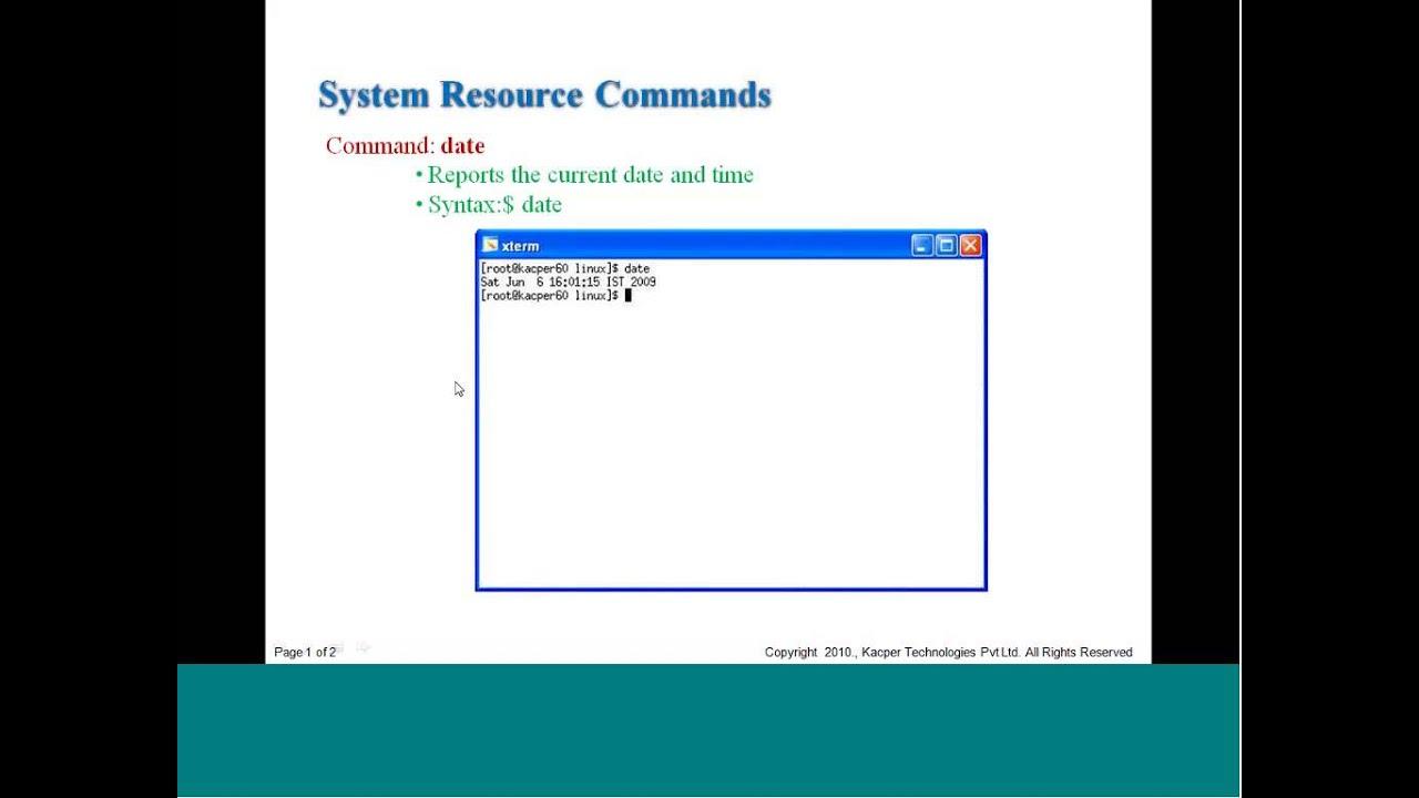 NPTEL :: Electronics & Communication Engineering - Linux Programming
