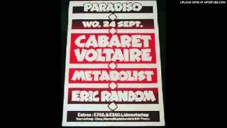 Cabaret Voltaire - Here She Comes Now [Amsterdam Paradiso 24.09.80 VPRO Radio]