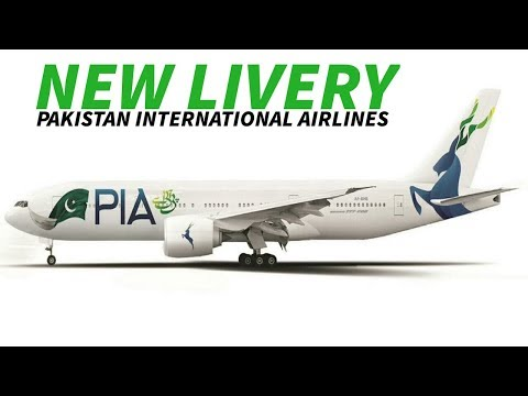PAKISTAN INTERNATIONAL AIRLINES Reveal NEW LIVERY and REBRAND