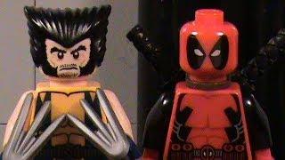 LEGO Wolverine VS Deadpool