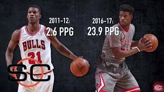 Jimmy butler's rise to all-star status | sportscenter | espn