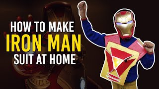 How to make Iron Man Suit for Kids - हिंदी में | Best out of Waste | Art Attack DIY