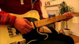 Positive Tension - Live - Bloc Party (Guitar Cover*)
