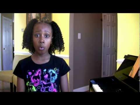 Amazing Must Hear- * Year old I have nothing Whitney Houston Tribute