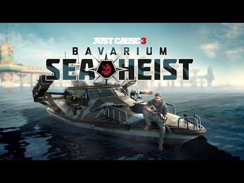 Just Cause 3 DLC BAVARIUM SEA HEIST #3 (немое прохождение/без комментариев)