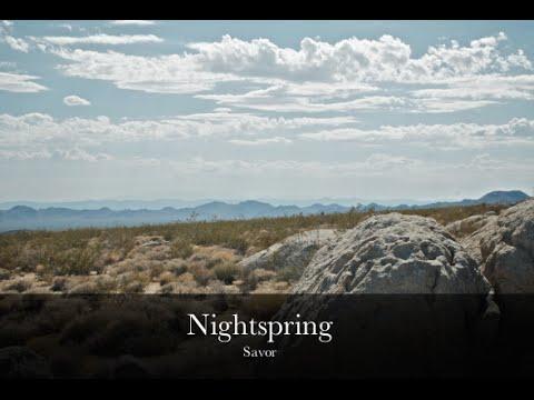 Nightspring - Savor (lyric video)