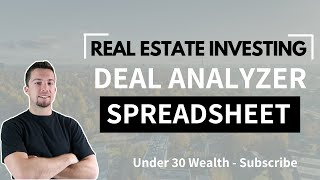 Build Your Own Real Estate Analysis Spreadsheet (Excel Tutorial)