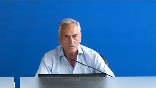 Conferenza stampa del Presidente Gravina da Casa Azzurri | EURO 2020