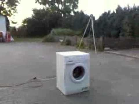 waschmaschine vs stein vol 2 youtube. Black Bedroom Furniture Sets. Home Design Ideas