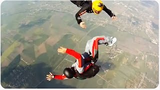 Skydiving Training Gone Wrong | Turtle On Its Back