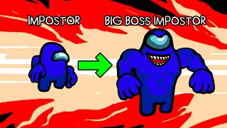 Among Us Cartoon   Pro Boss Impostor on Airship