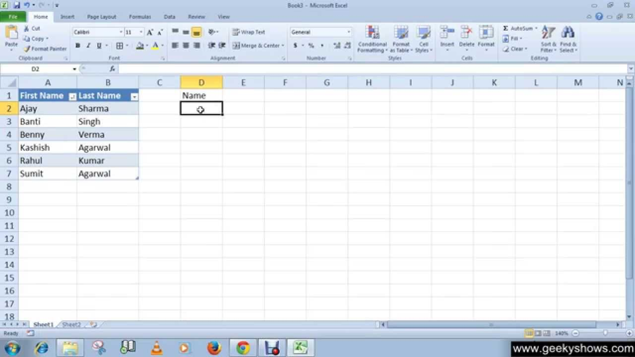 Microsoft Office Excel 2010 Sort Filter And String