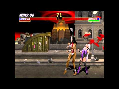 "Mortal Kombat 3 Arcade - ""Sheeva"" Playthrough"