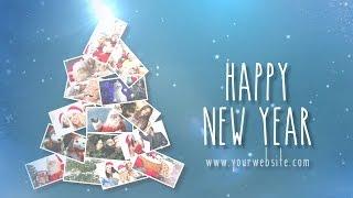 Christmas Tree Sony Vegas Template