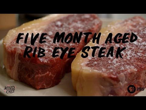 Chef Magnus Nilsson | Five Month Aged Rib Eye with Sugar Kelp and Tasty Paste