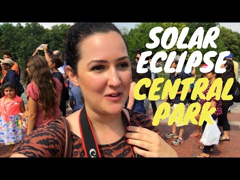 SOLAR ECLIPSE FROM CENTRAL PARK