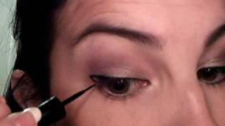 Shadow tutorial using Revlon Colorstay nude Elements Eyeshadow. -Al...