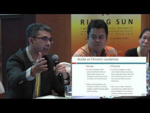 Understanding Chronic Lymphocytic Leukaemia (CLL): Pat Garcia- Gonzalez   Rising Sun Meeting 2015
