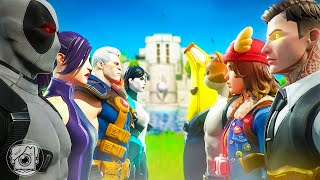 X-FORCE vs. THE AGENCY! (A Fortnite Short Film)