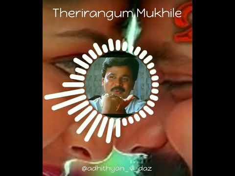 Therirangum Mukhile BGM mazhathullikilukkam emotional scene