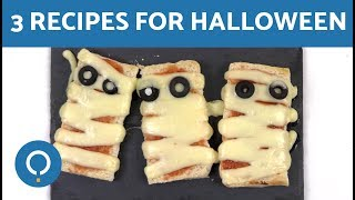 3 Recipes for Halloween
