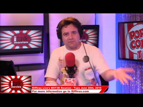Kevin Murphy talks Rifftrax Live's MST3K Reunion on iTalk Movies
