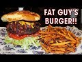 Fat Guy's Giant Burger Challenge in Tulsa, Oklahoma!!