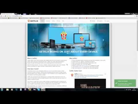 Getflix Smart DNS & VPN Demonstration