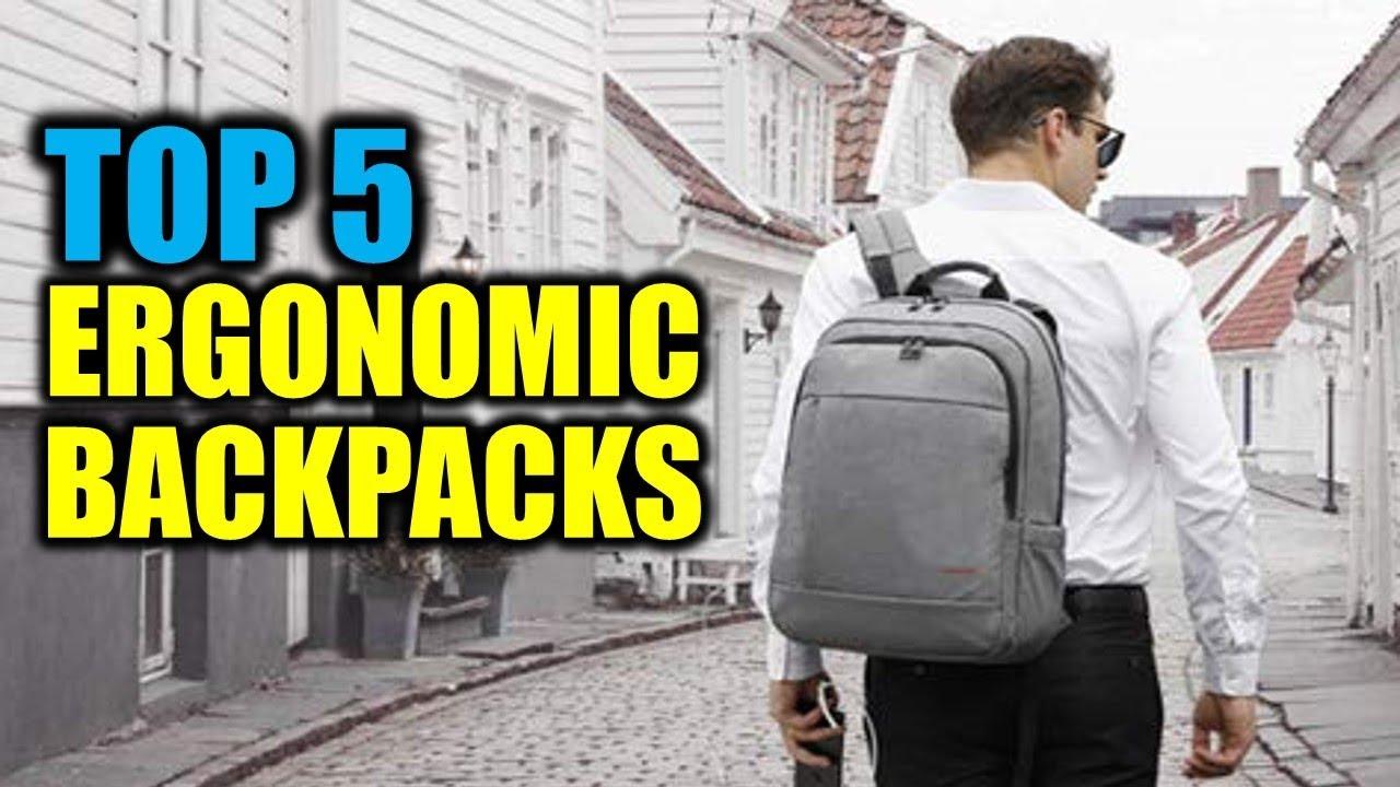aecad569a9aa Top 5 Ergonomic Backpacks 2018 | 5 Best Ergonomic Backpacks | Best  Ergonomic Backpacks Reviews