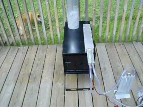 Very first Made in The USA Thermoelectric Wood Stove Generator - Very First Made In The USA Thermoelectric Wood Stove Generator