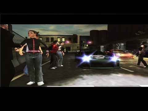 Need For Speed Underground 2: Walkthrough #155 - Port Authority [Sprint] (Stage 5)