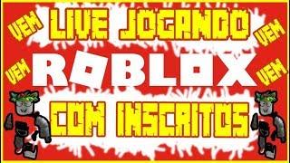 Live-Spiel Roblox mit Abonnenten kommen spielen mit Mir