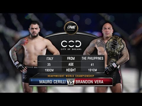 Brandon Vera vs. Mauro Cerilli | Full Fight Replay