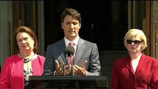 Video: Trudeau on Sir John A. Macdonald naming