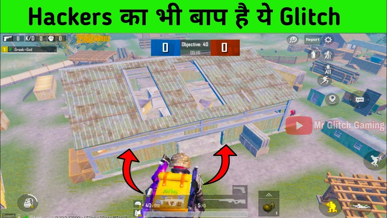 Pubg Mobile New Glitch in TDM Map || Pubg mobile New Tricks and Tips in Hindi || Mr Glitch Gaming