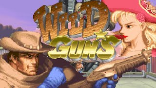 Wild Guns Super Nintendo Game Longplay Playthrough Retro Game