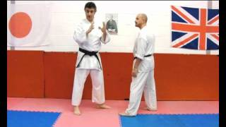 HEIAN YONDAN Bunkai Strategies 2012 pt2 Pinan kata shuto uchi application koryu oyo jutsu
