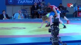 53 KG Repechage - Whitney Conder (USA) vs Myong Suk Jong (PRK)