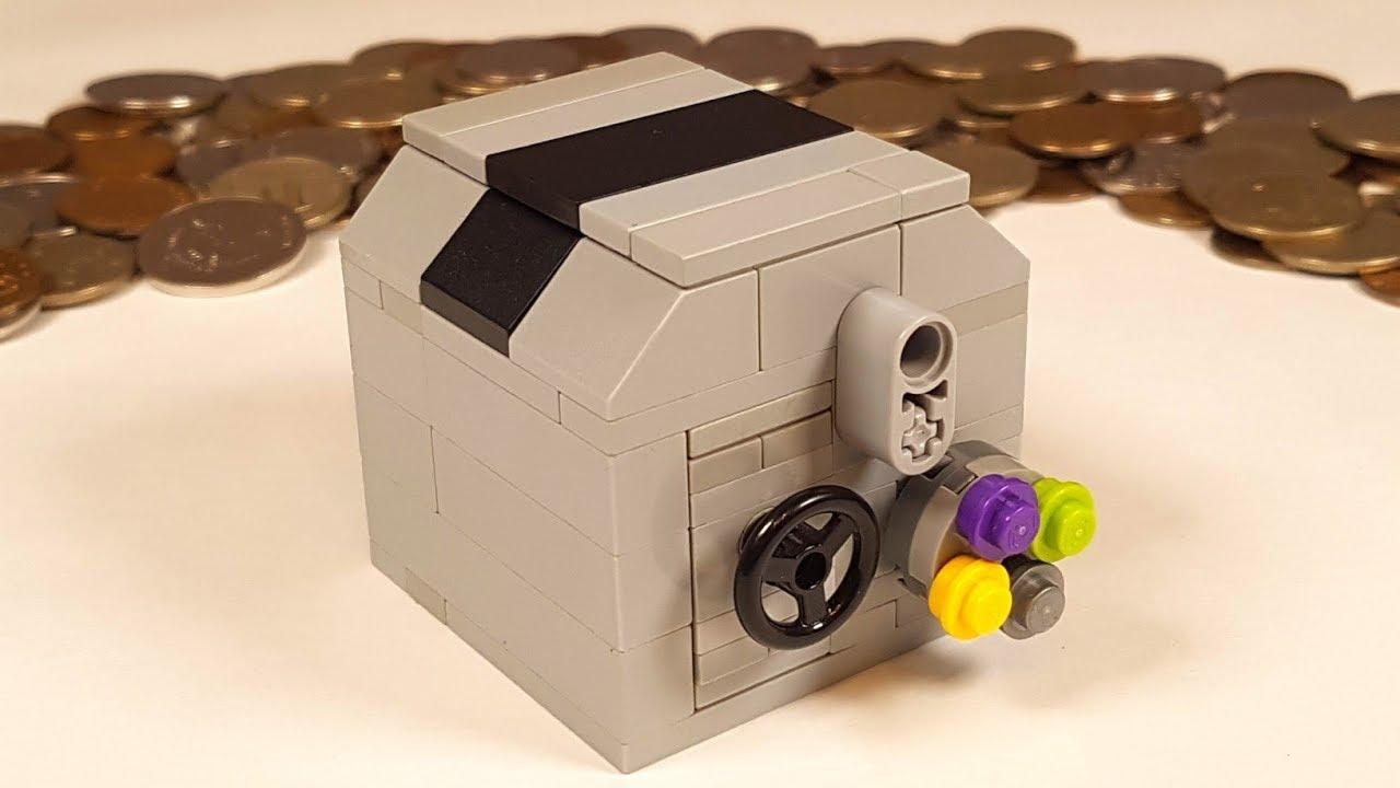 Как сделать из лего сейф с механизмом фото 421