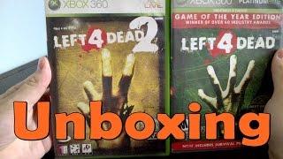 Left 4 Dead / Left 4 Dead 2 - Xbox 360 - UNBOXING