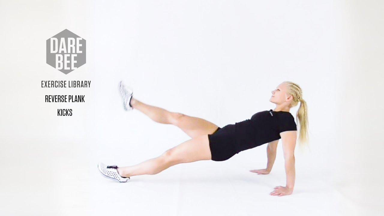 Exercise Library: Reverse Plank Kicks