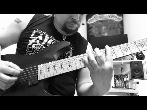 Fireproven - Waves of Extinction - Official guitar tutorial part 7. SYNTH SOLO PART