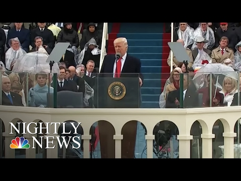 Sights And Sounds Of Donald Trump's Presidential Inauguration | NBC Nightly News