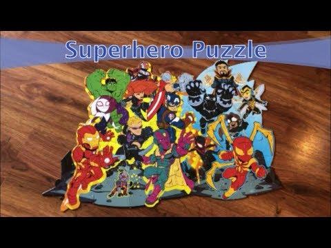 Superhero Puzzle - ZJfun