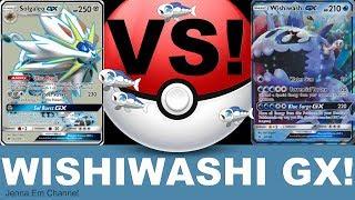 Pokemon Wishiwashi GX VS Solgaleo GX! PTCGO Jenna Em