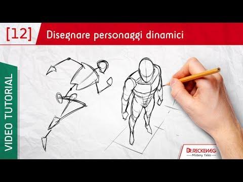 Il corpo in movimento - Come disegnare un fumetto
