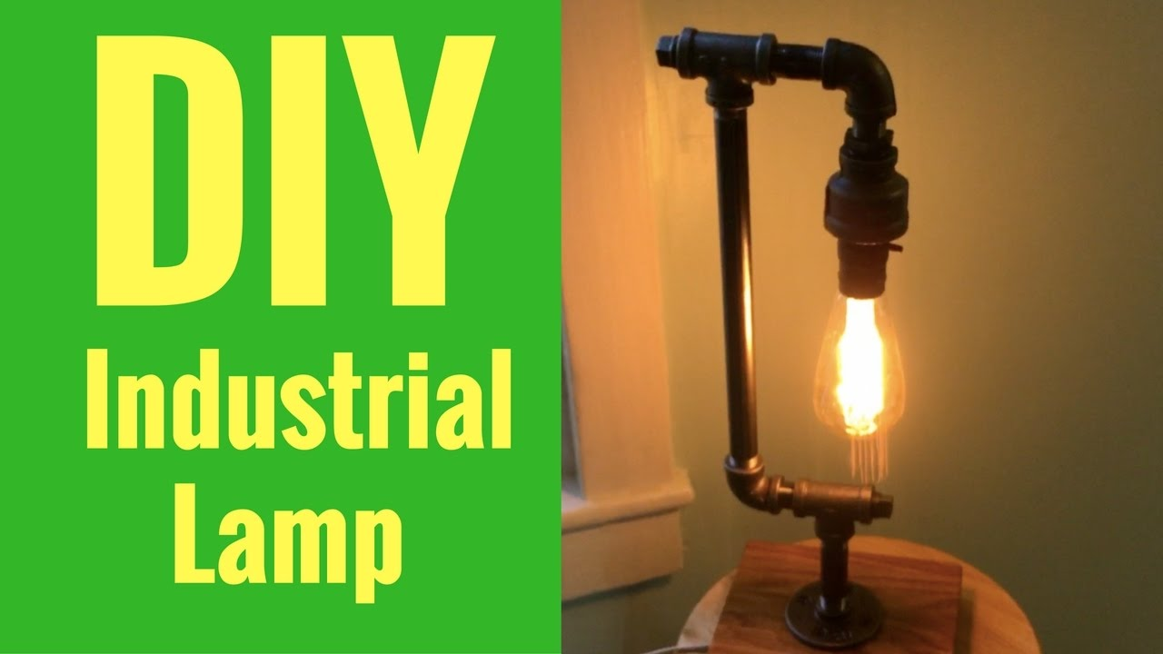 How to make your own industrial lamp youtube for How to make an industrial lamp