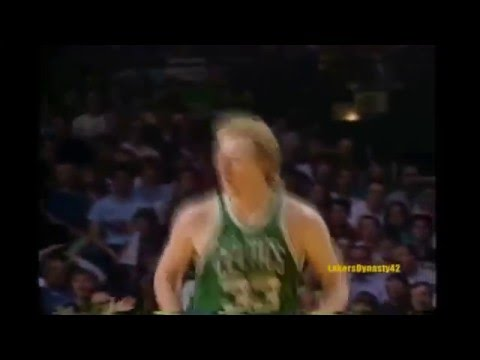 1986 Boston Celtics tribute