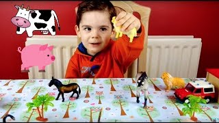 Learning the Animals For Kids- Old MacDonalds Had A Farm Song